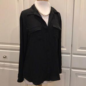 LOFT - Buttoned Down Camp/Dress Shirt